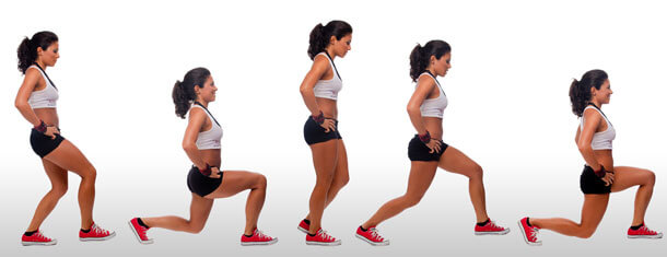 best running exercise lunge