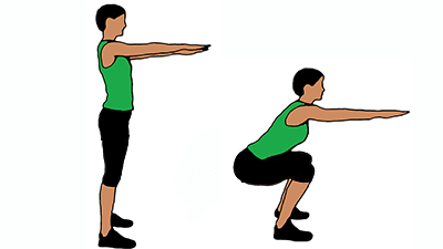 how to do perfect squat