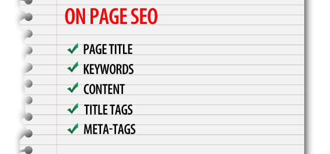 on page seo for good blog post